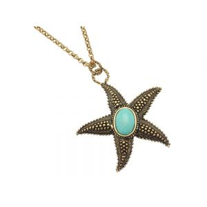 Starfish Necklace from Magnesite Heart