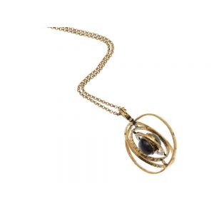 Armillary sphere necklace
