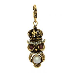 Crowned Owl Charms